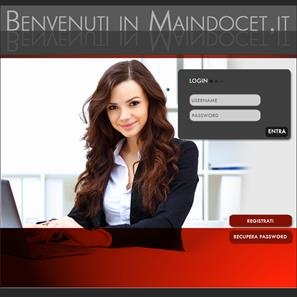 Sito web www.maindocet.it